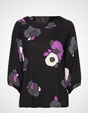 Nanso Ladies Blouse, Talvikki T-shirts & Tops Long-sleeved Svart NANSO