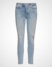 Calvin Klein Ckj 001 Super Skinny Skinny Jeans Blå CALVIN KLEIN JEANS