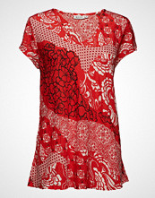 Masai Kaza Top T-shirts & Tops Short-sleeved Rød MASAI