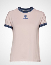 Hummel Hmlflow T-Shirt S/S T-shirts & Tops Short-sleeved Rosa HUMMEL