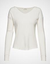 American Vintage Rigow T-shirts & Tops Long-sleeved Hvit AMERICAN VINTAGE