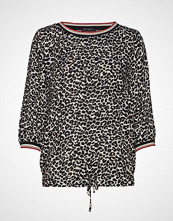 Betty Barclay Blouse Short 3/4 Sleeve T-shirts & Tops Long-sleeved Svart BETTY BARCLAY