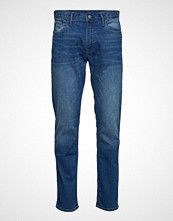 GAP Slim Straight Str Bright Medium Slim Jeans Blå GAP