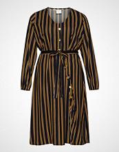 Junarose Jrasly Ls Midi Dress - K Knelang Kjole Multi/mønstret JUNAROSE