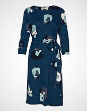 Nanso Ladies Dress, Talvikki Knelang Kjole Blå NANSO