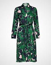 By Malina Alessandra Shirt Dress Knelang Kjole Grønn BY MALINA