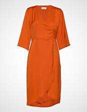 Modström Said Dress Knelang Kjole Oransje MODSTRÖM