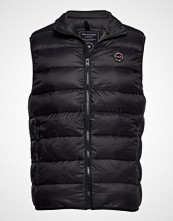 Abercrombie & Fitch Lightweight Down Vest Vest Svart ABERCROMBIE & FITCH