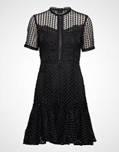 By Malina Elara Dress Knelang Kjole Svart BY MALINA