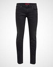 HUGO Hugo 708 Slim Jeans Svart HUGO