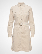 Cream Siljacr Dress Knelang Kjole Beige CREAM