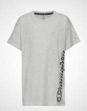 Cènnìs Maxi T-Shirt T-shirts & Tops Short-sleeved Grå CHAMPION