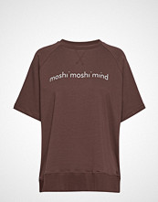 Moshi Moshi Mind Umeko Sweat T-shirts & Tops Short-sleeved Brun MOSHI MOSHI MIND