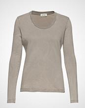 American Vintage Fuzycity T-shirts & Tops Long-sleeved Grå AMERICAN VINTAGE