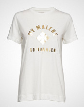By Malene Birger Elula T-shirts & Tops Short-sleeved Hvit BY MALENE BIRGER