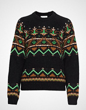Wood Wood Asta Sweater Strikket Genser Multi/mønstret WOOD WOOD