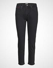 Tommy Jeans High Rise Slim Izzy, Skinny Jeans Svart TOMMY JEANS