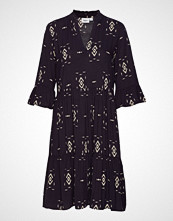 Saint Tropez Edasz Dress Knelang Kjole Blå SAINT TROPEZ