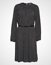 Esprit Casual Dresses Light Woven Knelang Kjole Svart ESPRIT CASUAL