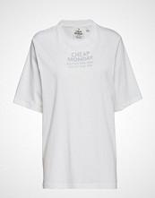 Cheap Monday Perfect Tee Chp Mnd Sender T-shirts & Tops Short-sleeved Hvit CHEAP MONDAY