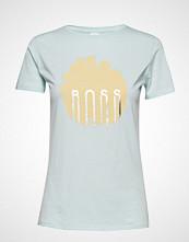 Boss Casual Wear Teblossom T-shirts & Tops Short-sleeved Hvit BOSS CASUAL WEAR