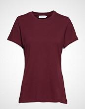 Samsøe & Samsøe Solly Tee Solid 205 T-shirts & Tops Short-sleeved Rød SAMSØE & SAMSØE