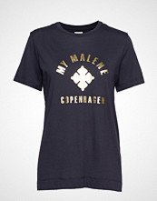 By Malene Birger Elula T-shirts & Tops Short-sleeved Svart BY MALENE BIRGER