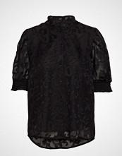 Cream Godwina Shirt Bluse Kortermet Svart CREAM