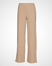 Gina Tricot Elin Trousers Vide Bukser Beige GINA TRICOT