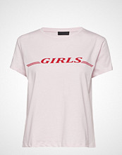 2nd Day 2nd Girls T-shirts & Tops Short-sleeved Rosa 2NDDAY
