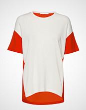 BOSS Business Wear Efira T-shirts & Tops Short-sleeved Hvit BOSS BUSINESS WEAR