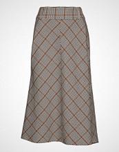Denim Hunter Dhcolombia Skirt Light Woven Knelangt Skjørt Multi/mønstret DENIM HUNTER