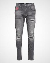 Tommy Jeans Modern Tapered Tj 19 Slim Jeans Grå TOMMY JEANS
