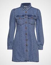 Envii Enspruce Ls Dress 6667 Kort Kjole Blå ENVII
