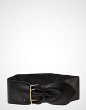 Yas Yasvalira Waist Leather Belt Belte Svart YAS