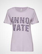 Soyaconcept Sc-Ingun T-shirts & Tops Short-sleeved Lilla SOYACONCEPT