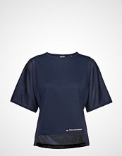 Tommy Sport Mesh T-Shirt T-shirts & Tops Short-sleeved Blå TOMMY SPORT