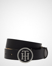 Tommy Hilfiger Th Round Buckle Belt Belte Svart TOMMY HILFIGER