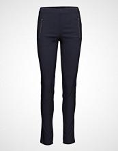 Masai Pearl Trousers Ew Basic Stramme Bukser Stoffbukser Blå MASAI