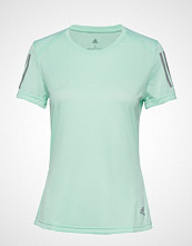 Adidas Performance Own The Run Tee T-shirts & Tops Short-sleeved Grønn ADIDAS PERFORMANCE