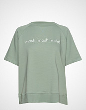 Moshi Moshi Mind Umeko Sweat T-shirts & Tops Short-sleeved Grønn MOSHI MOSHI MIND