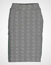 Brandtex Skirt-Jersey Knelangt Skjørt Svart BRANDTEX