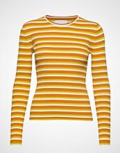 Samsøe & Samsøe Jolena O-N St 10416 T-shirts & Tops Long-sleeved Gul SAMSØE & SAMSØE