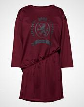 Hilfiger Collection Hcw Crest Rouched Ts Kort Kjole Rød HILFIGER COLLECTION