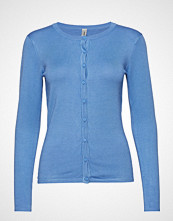 Soyaconcept Sc-Dollie T-shirts & Tops Long-sleeved Blå SOYACONCEPT