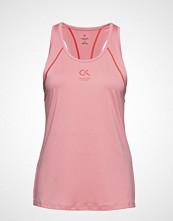 Calvin Klein Performance Logo Tank T-shirts & Tops Sleeveless Rosa CALVIN KLEIN PERFORMANCE