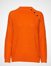Brandtex Pullover-Knit Heavy Strikket Genser Oransje BRANDTEX