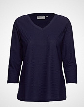 Fransa Fremjacq 1 T-Shirt Strikket Genser Blå FRANSA