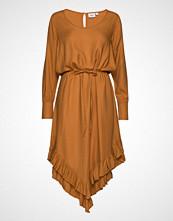 Saint Tropez U6040, Woven Maxi Dress Knelang Kjole Gul SAINT TROPEZ