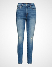 Calvin Klein Ckj 010 High Rise Sk Skinny Jeans Blå CALVIN KLEIN JEANS